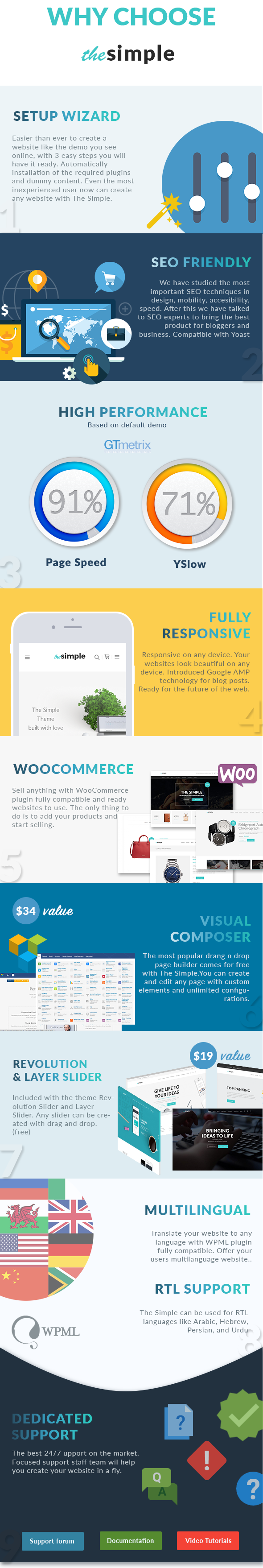 The Simple - Business WordPress Theme - 9